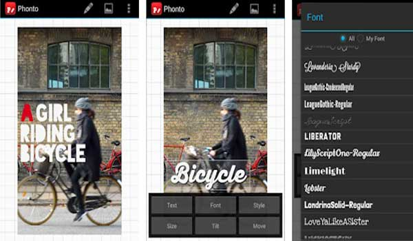 Phonto – Text on photos