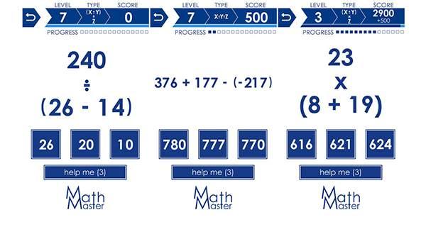 Ahli Matematika (Math Game)