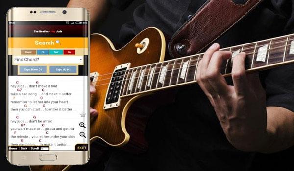 Aplikasi Kunci Gitar Android Terbaru