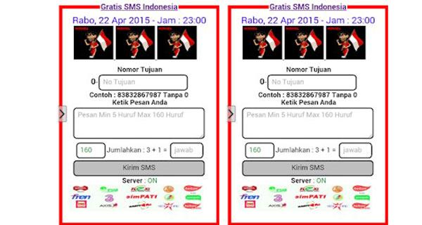 SMS GRATIS ImamSujono