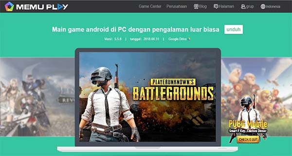 Emulator Android Teringan