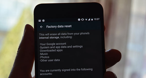 Factory Reset Pada Smartphone Android