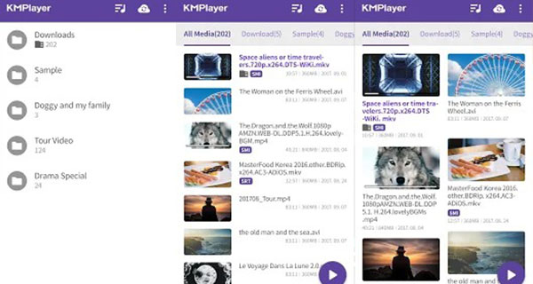 KMPlayer (Mirror Mode, HD)