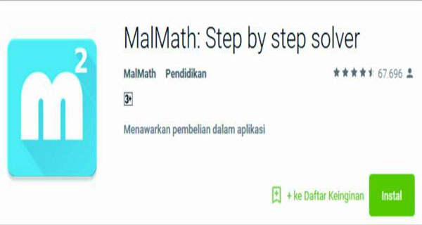 MalMath Step by step solver