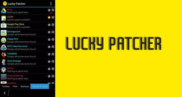 Menggunakan Lucky Patcher