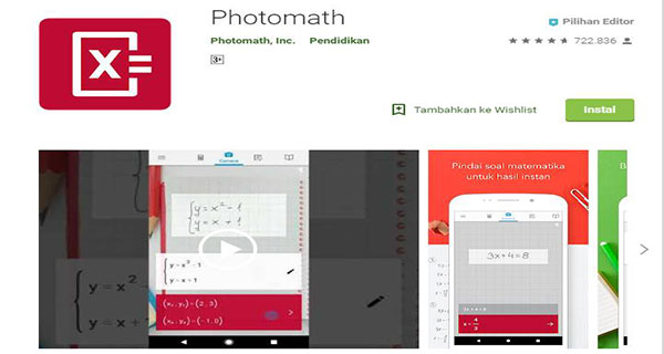 Photomath - Camera Calculator