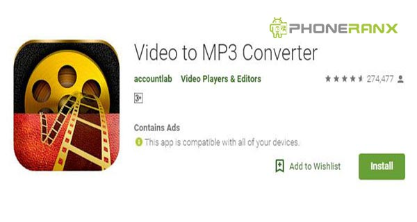 Accountlab: Video to MP3 Converter