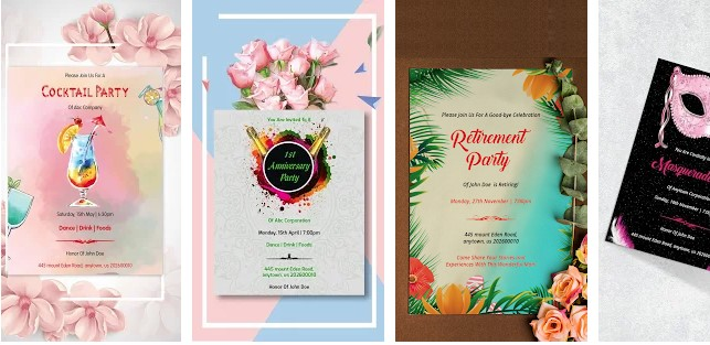 Invitation Maker, Invite Maker & Creator