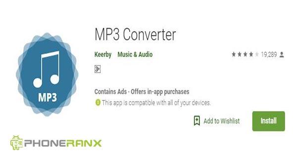 Keerby: MP3 Converter