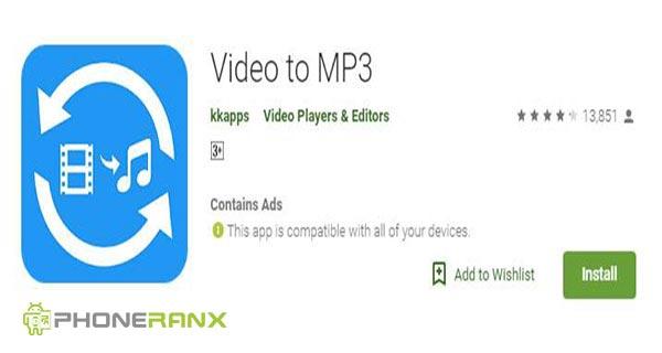 Kkaps: Video to MP3