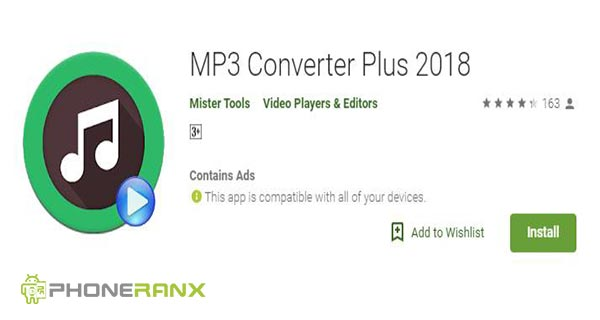 Mister Tools: MP3 Converter Plus