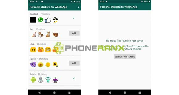 Aplikasi Personal Stickers for WhatsApp