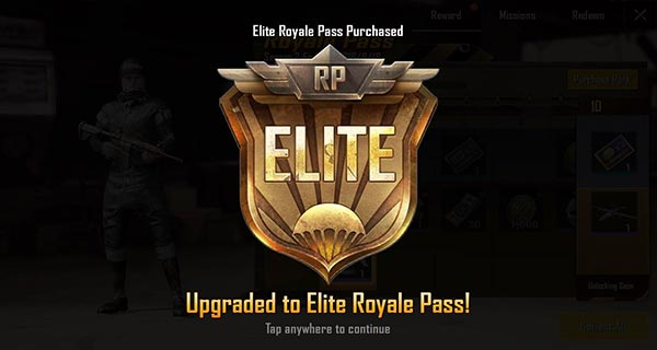 Cara upgrade Royal Pass PUBG