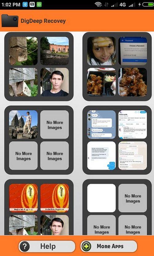 Cara Mengembalikan Foto Yang Terhapus di Android Lewat DigDeep Image Recovery 2