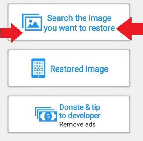 Cara Mengembalikan Foto Yang Terhapus di Android Lewat Restore Image 2