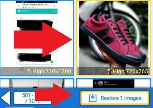 Cara Mengembalikan Foto Yang Terhapus di Android Lewat Restore Image 4
