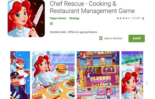 Chef Rescue Cooking & Restaurant Management Game