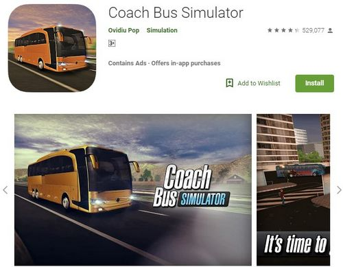 Coach Bus Simulator Android