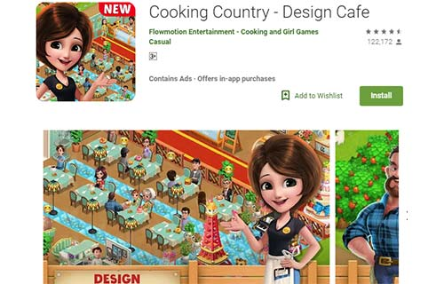 Cooking Country - Design Cafe