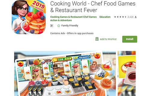 Cooking World - Chef Food Games & Restaurant Fever