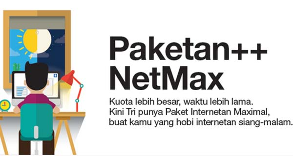 Daftar Paket Netmax 3