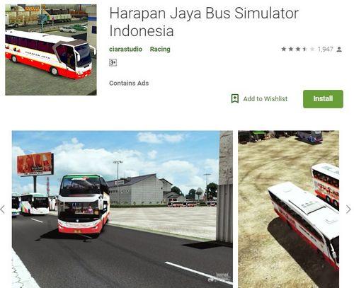 Harapan Jaya Bus Simulator Indonesia Android