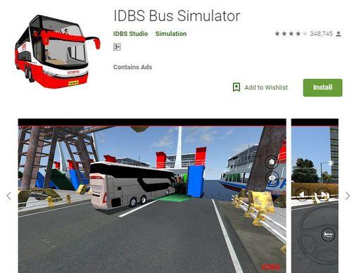 IDBS Bus Simulator Android