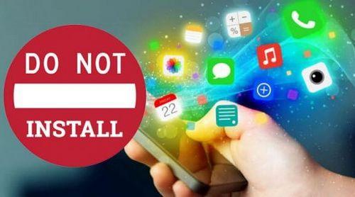 Jangan Instal Aplikasi Yang Sumbernya Tidak Jelas