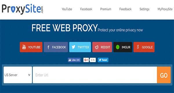 Menggunakan Web Proxy