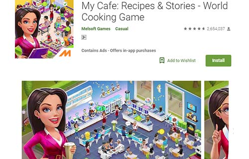 My Cafe Recipes & Stories World Cooking Game