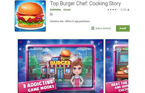 Top Burger Chef Cooking Story