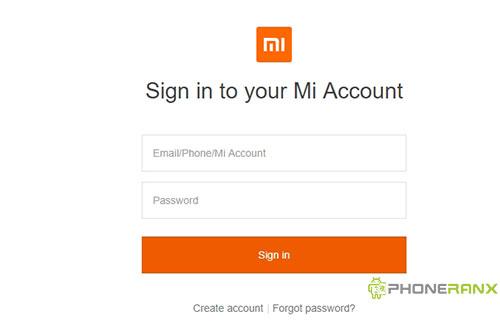 Cara Menghapus Akun Mi Cloud Xiaomi Lewat Website