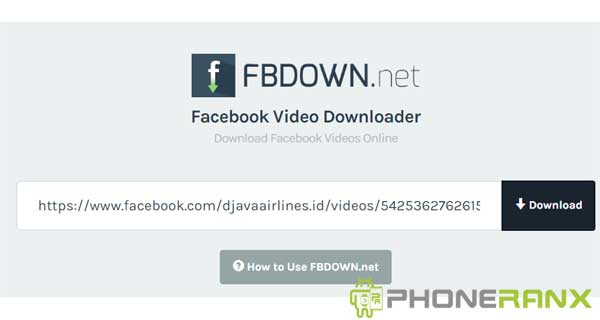 Situs Download Video Faceook 2