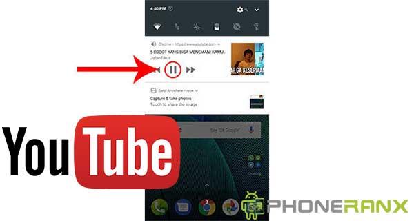 Cara Memutar Youtube Di Layar Belakang Android