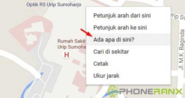 Cara Mencari Titik Koordinat di Google Maps 1