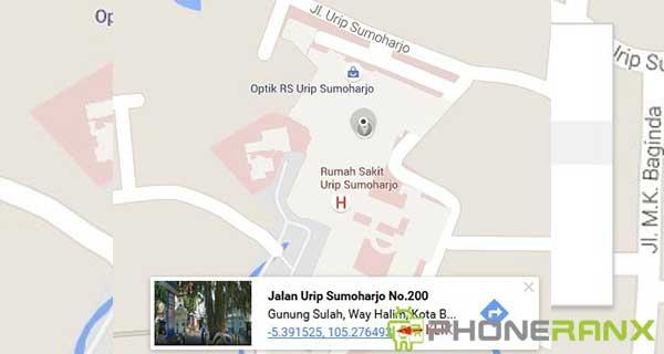 Cara Mencari Titik Koordinat di Google Maps 2
