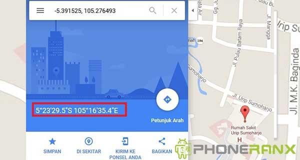 Cara Mencari Titik Koordinat di Google Maps 3