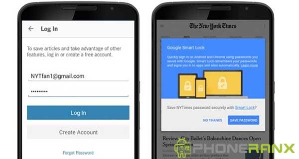 Cara Menghilangkan Google Smart Lock di Instagram