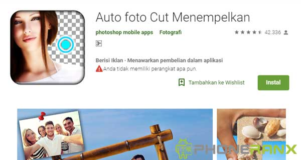 Cara Mengganti Background Foto di Android