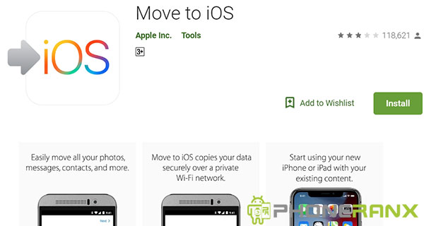 Cara Menggunakan Move To iOS (Pindah Android ke iPhone)