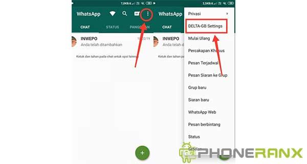 Cara Mengubah Tampilan Whatsapp Seperti Instagram 2