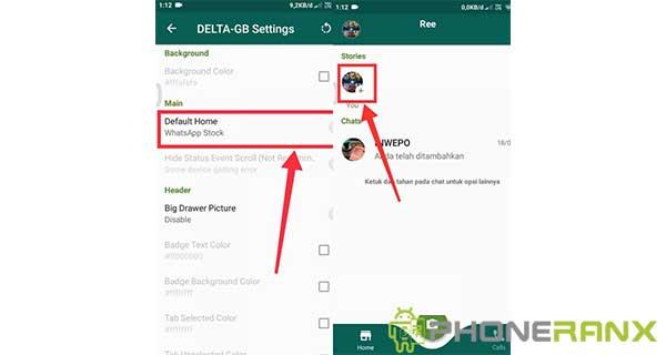 Cara Mengubah Tampilan Whatsapp Seperti Instagram 4