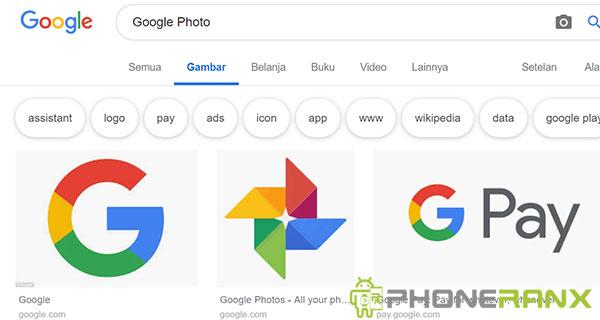 5 Cara Menyimpan Gambar Dari Google Ke Galeri Hp Android Phoneranx