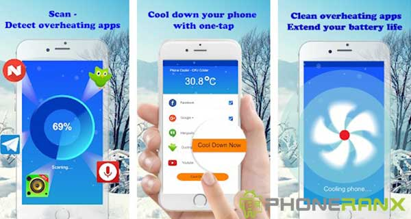 Phone Cooler - Pro Cleaner Master App - CPU Cooler