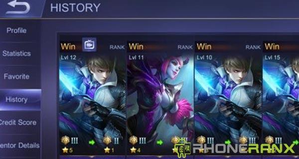 Cara Menyembunyikan History Mobile Legends Terbaru
