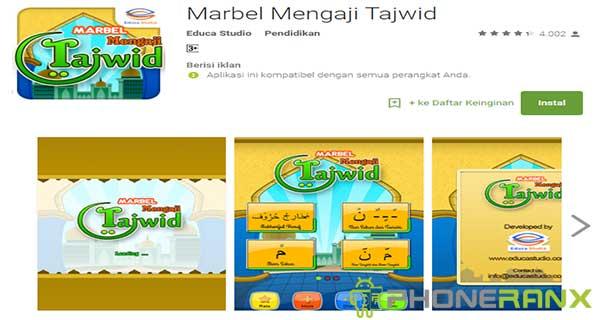 Marbel Mengaji Tajwid