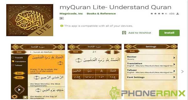 myQuran Lite Understand Quran