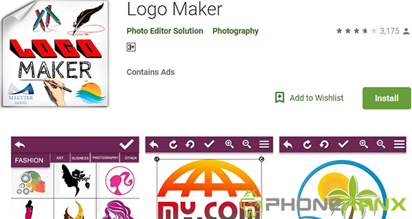 Logo Maker Photo Editor Solution