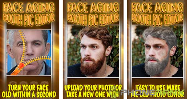 Face Aging Booth Pic Editor