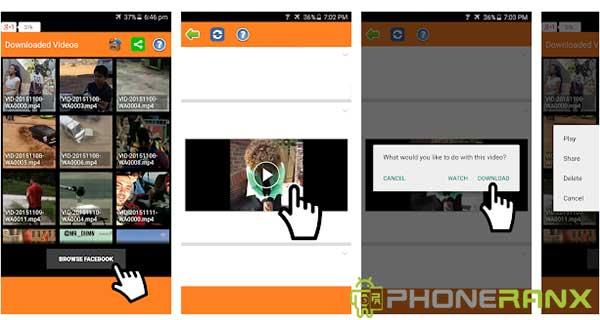 Cara Download Video Facebook Deangan Aplikasi